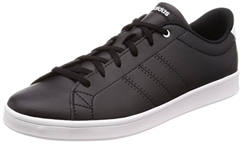 adidas Damen Advantage Clean Qt Fitnessschuhe, Schwarz (Negbas/Ftwbla 000), 40 2/3 EU