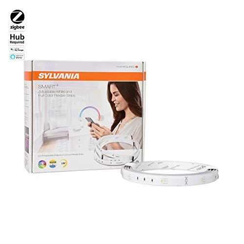 Ampoule LED intelligente Sylvania Smart + marche/arrêt/variateur, 60 W équivalent A19, fonctionne avec Amazon Alexa, SmartThings et Wink, 74283