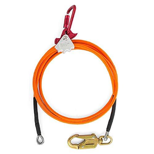 Cuerda de escalada de alta calidad, núcleo de alambre de acero, cable de posicionamiento vacío para cobertor de árboles y escaladores