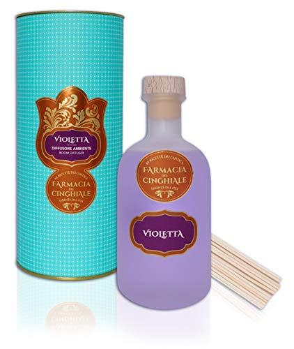 Difusor para el Medio Ambiente Fragancia Violeta Sticks Fragancia Floral afrutada Fresca de 250 ml