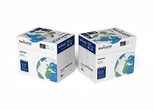 Navigator Expression - Papel multiusos para impresora - A4 90gr - 5000 hojas