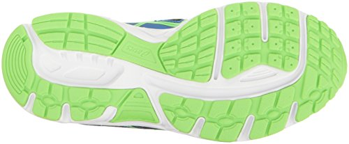ASICS - Unisex-Enfant Gel-Contend 4 GS Chaussures, 37 EU, Directoire Blue/Green/Safety Yellow
