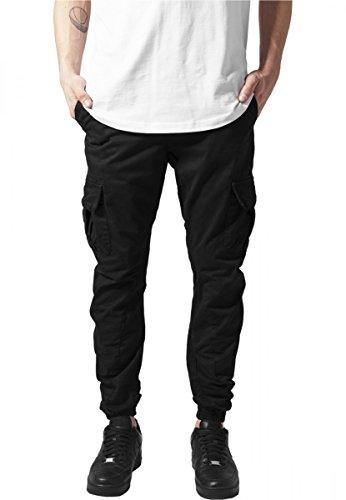Urban Classics Cargo, Pantaloni Jogging Uomo, X-Large, Nero (Black 7)