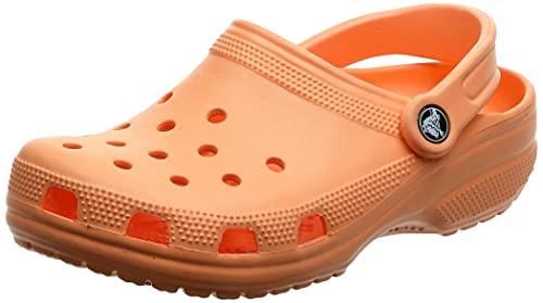 Crocs Classic Clog K Unisex Niños Zuecos, Naranja (Tangerine), 29/30 EU