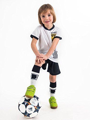 Weihnachtsgeschenk Trikotset Trikot Kinder 4 Sterne Deutschland WUNSCHNAME Nummer Geschenk Größe 98-170 T-Shirt Weltmeister 2014 Fanartikel EM 2016