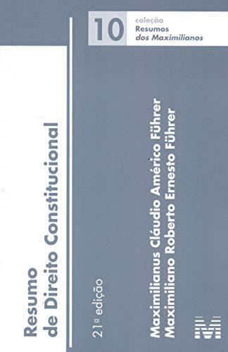 Resumo (10) direito constitucional - 21 ed./2018