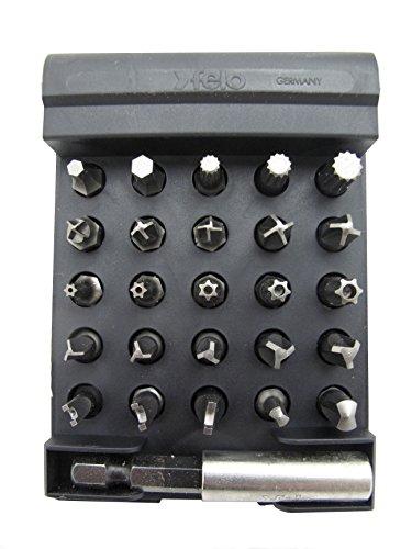 Felo 0715751565seguridad Bitbox juego de brocas punta de seguridad, 25y 1