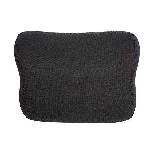 AmazonBasics - Almohada viscoelástica para cuello, negra