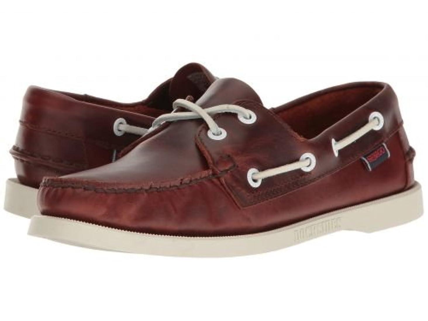 お世話になった空洞聖歌Sebago(セバゴ) レディース 女性用 シューズ 靴 ボートシューズ Docksides(R) Leather - Brown Oiled Waxy Leather 5.5 M [並行輸入品]