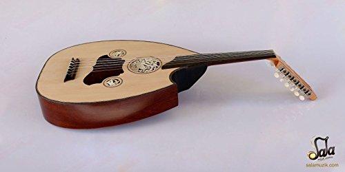 Türkische Professional Hälfte Schnitt E-Oud UD String Instrument aoh-301g
