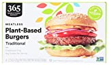 365 by Whole Foods Market, Burger Plant Based Traditional, 10 Ounce