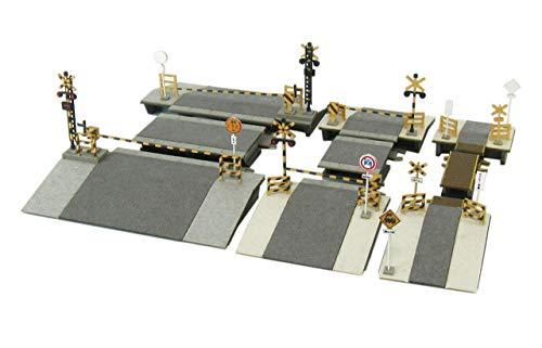 Petit Z scale crossing set MP01-108 (Paper Craft) 1/220 miniature (japan import)