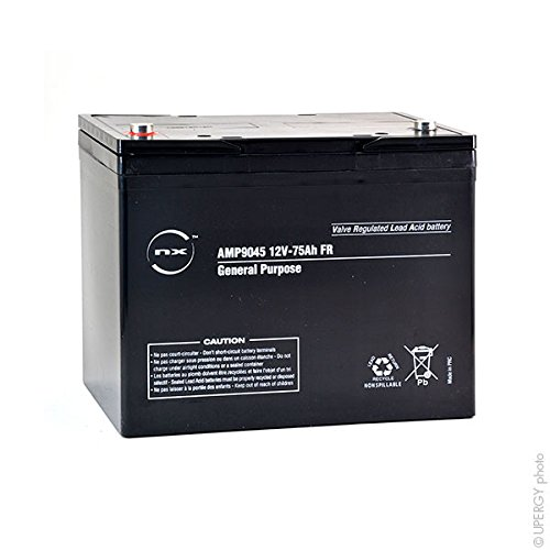 NX - Akku AGM 75-12 General Purpose FR 12V 75Ah M6-F