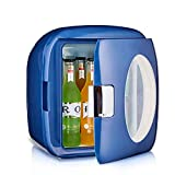 HZYGL Cute Skincare FridgeMini refrigerador portátil para...
