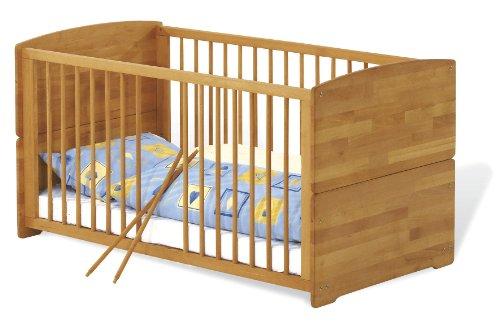 Pinolino Babybett Kinderbett Ole (Liegefläche (B x L): 70 x 140 cm)