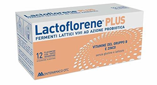 Lactoflorene Plus - Integratore alimentare di fermenti lattici vivi 12 Flaconcini