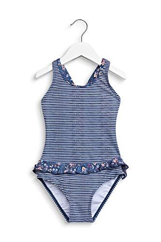ESPRIT LONG BEACH MG       swimsuit Badeanzug, Mädchen, Blau 116/122