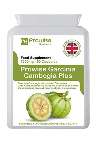 Garcinia Cambogia 1000mg 60 Capsules - UK Manufactured | GMP Standards by...