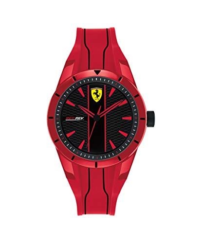 Scuderia Ferrari Reloj Analógico para Niños de Cuarzo con Correa en Silicona 830494