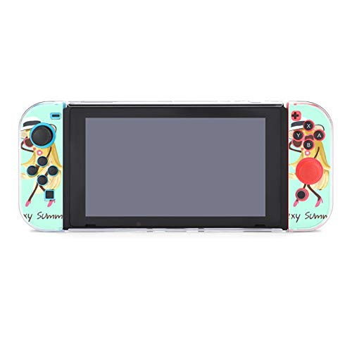 Funda para Nintendo Switch Sexy Banana 5 piezas Funda protectora compatible con Nintendo Switch Game Console