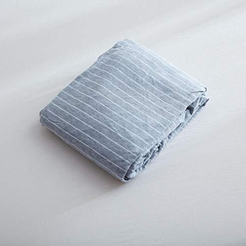 LCFCYY Sábanas Ajustables,Sábanas de algodón Suaves y cómodas,niños,niñas,Dormitorio,Dormitorio,hogar,colchón,Protector Gray 120 * 200cm
