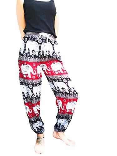 Cosm-OrganiC Pantalon Thai Femme, Style Hippie Chic, Robe Mandala, Tenue bohème Chic