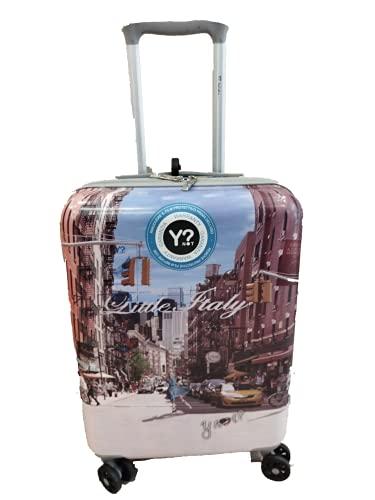 Y Not Yes Case Valigia di cabina 4 ruote 54 cm