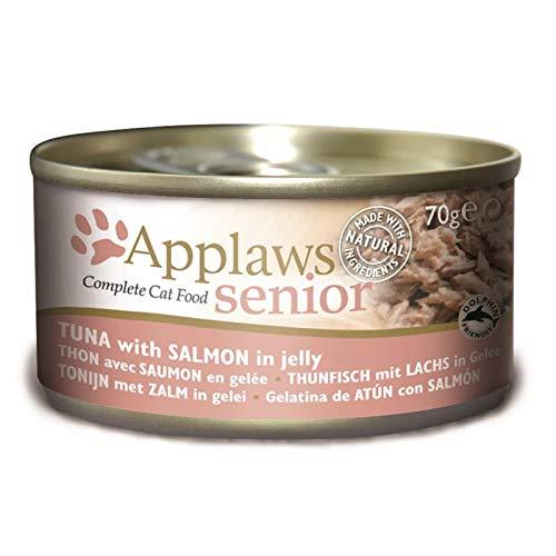 Applaws Gato Lata Senior Atún y Salmón (24 x 70 gr.)
