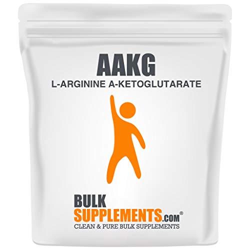 BulkSupplements L-Arginine a-Ketoglutarate (AAKG) Powder (500 Grams)