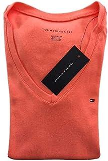 Camiseta Basica Feminina TH Rosa PP
