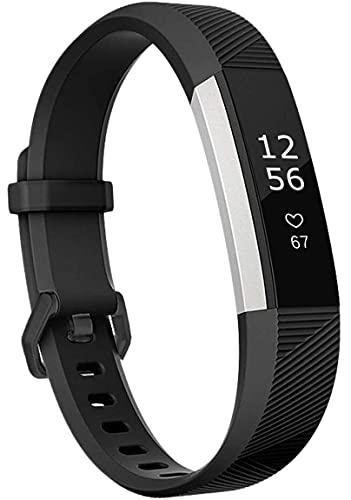 Classicase Correa de Reloj Compatible con Fitbit Alta HR/Alta, Silicona Banda de Reemplazo Pulsera (Pattern 9)
