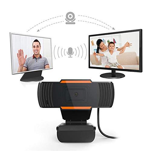 Cámara Web 1080P Con Micrófono, Cámara De Video HD Para Computadora Portátil, Monitor De Computadora De Escritorio, Para Transmisión En Vivo / Llamadas/Grabación/Conferencias/YouTube/Zoom/Facetime