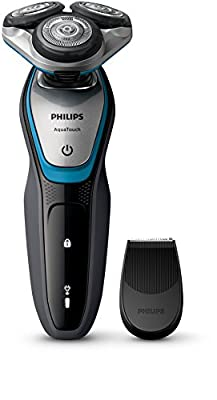 Philips S5400/06 Series 5000 Aqua Touch Electric Shaver with Smart Click Precision Trimmer