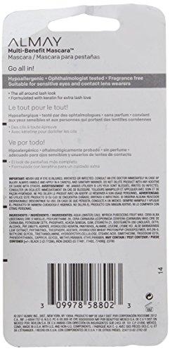 Almay Multi-Benefit Mascara, Black, 0.24 fl. oz.