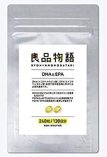 良品物語 スーパーフィッシュオイル DHA×EPA 120日分