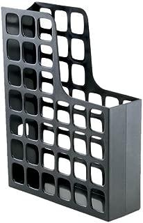 Oxford DecoFile Plastic Magazine File, Black (24466)
