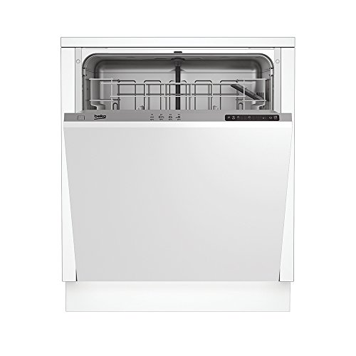Beko DIN14210a scomparsa totale 12coperti A + Acciaio inossidabile lavastoviglie–lavastoviglie, a scomparsa totale, a, a +, Acciaio Inox, LED, a)