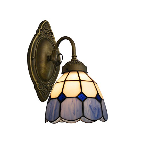 NIUYAO Applique Lámparas de pared Tiffany Lamp Iluminación Bañadores de pared Industrial...
