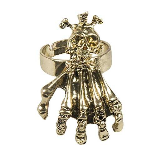 Boland 72335 - Anello a Forma di Teschio, Colore: Oro