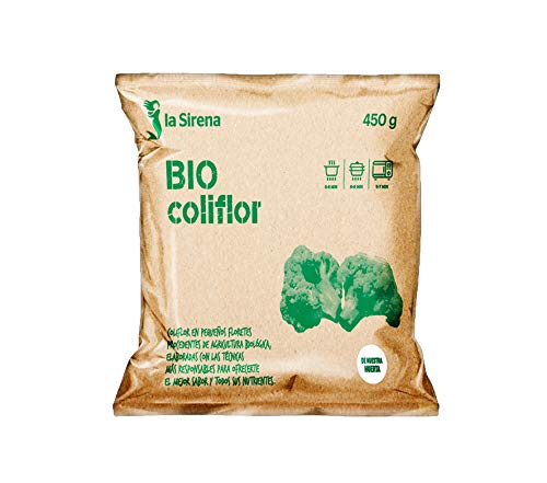 La Sirena Coliflor, 450g (Bio) (Congelado)