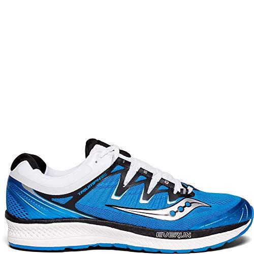 Saucony Triumph ISO 4, Scarpe Running Uomo, Blu (Blue/Black/White 2), 44.5 EU