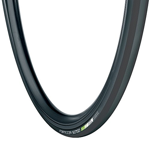 Vredestein Fortezza Senso Allwetter-Reifen für Fahrrad, Unisex, Fortezza Senso All Weather, 700 x 25C, schwarz
