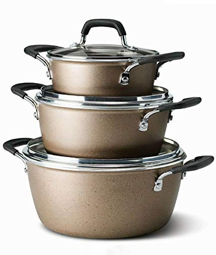 Tramontina stackable cookware set review