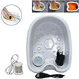 JJHZ Spas para Pies - Baño De Pies De Desintoxicación Iónico Set para El Cuidado del Baño De SPA para Pies Eliminar El Dolor con Un Recipiente De Plástico