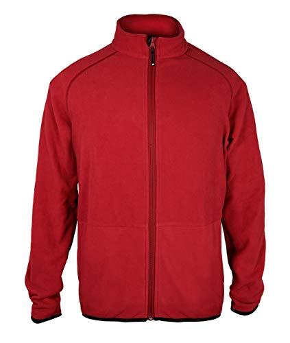 adidas Herren Microfleece Jacke Baltic, Farbe:rot, Größe:XXL