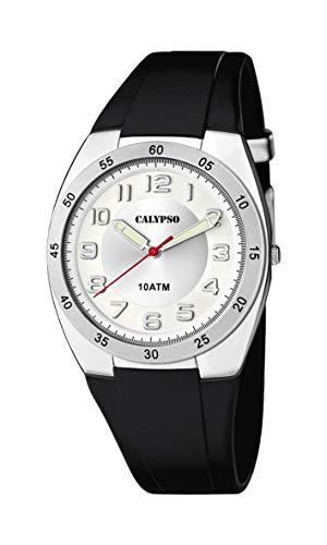 Calypso Reloj Analógico para Hombre de Cuarzo con Correa en Plástico K5753/4