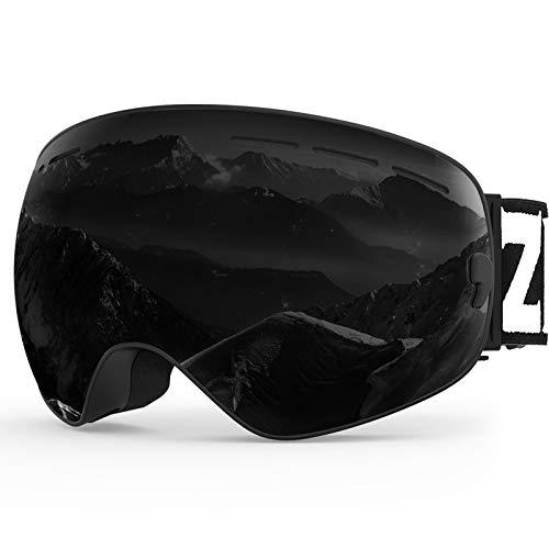 ZIONOR X Ski Snowboard Snow Goggles OTG Design for Men
