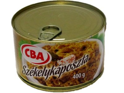 Szegediner Gulasch mit Sauerkraut aus Ungarn