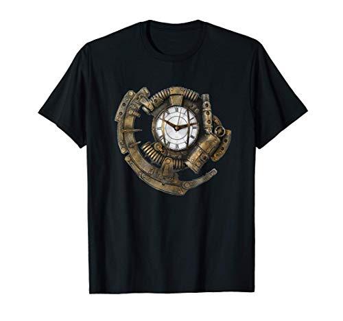 Orologio Steampunk Camicia regalo orologio vintage Maglietta