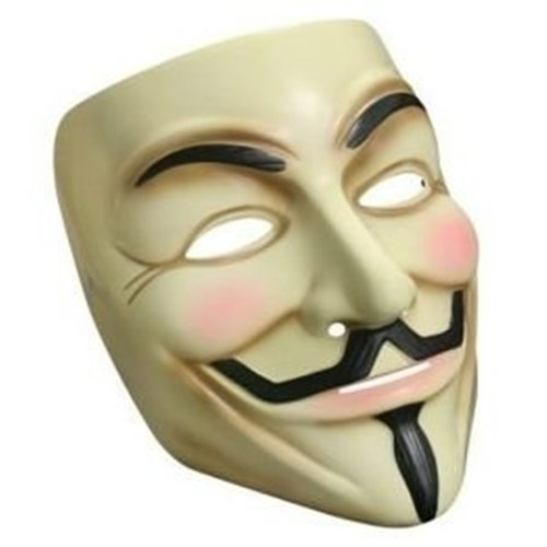 Lot de 3 Masques de Guy Fawkes 'V pour Vendetta'